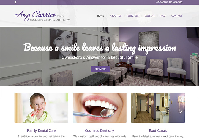 Owensboro Dentist Web Design
