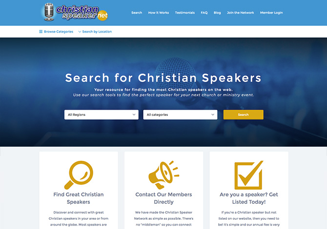 Christian Speaker Network
