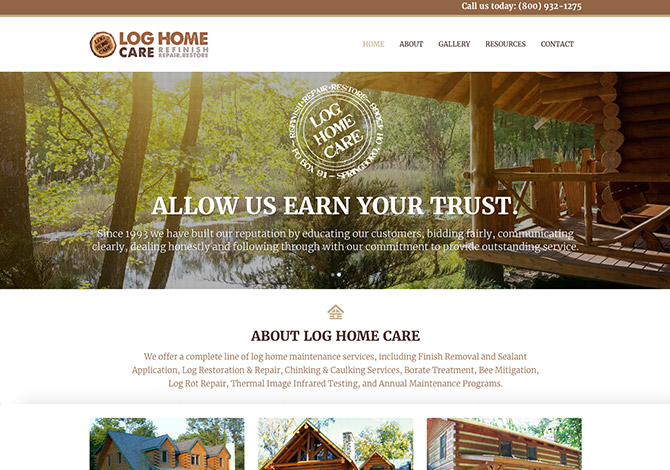 Log Home Care